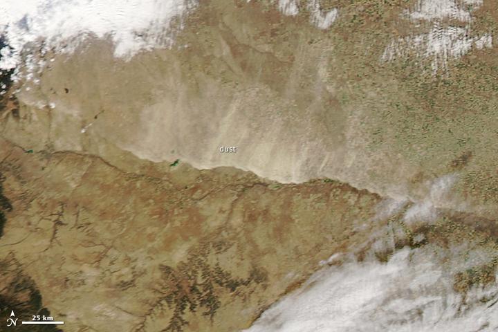 Dust Storm in Colorado