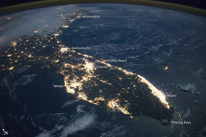 Florida at Night - related image preview