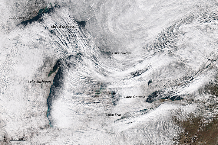 New York Walloped by Lake Effect Snow