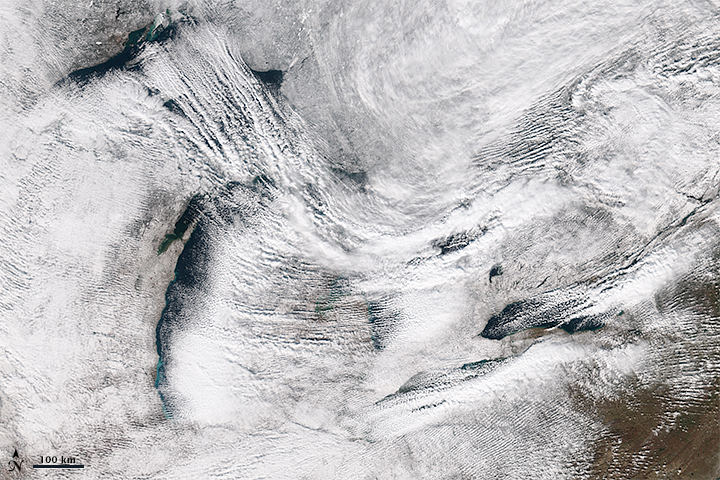 Upstate New York Walloped by Lake Effect Snow