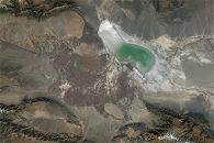 Shrinking Lake Ebinur