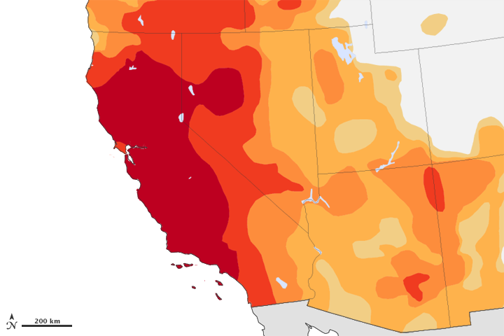 Drought Persists in the American Southwest