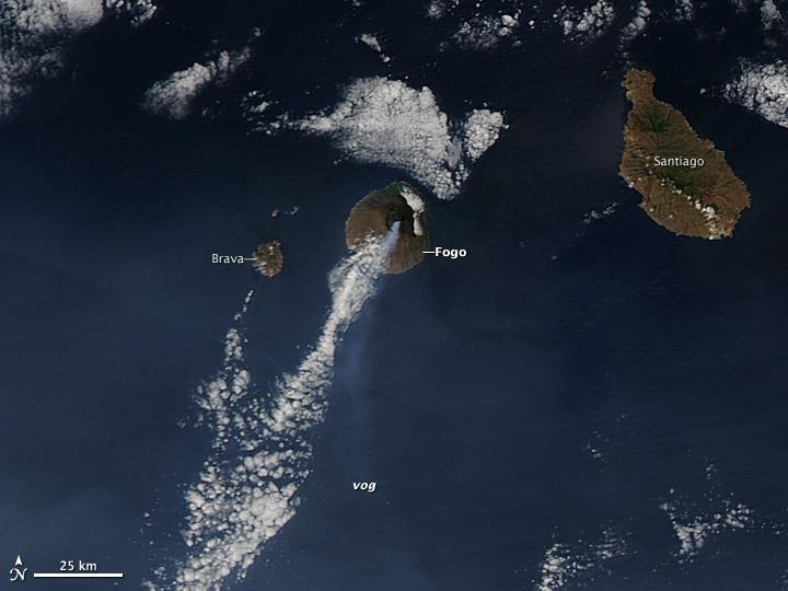 Eruption at Fogo