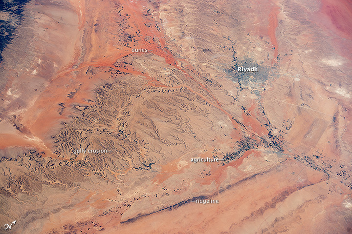 Central Saudi Arabia: Riyadh and dunes