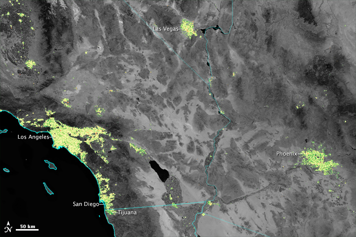Even from Space, Holidays Shine Brightly - related image preview