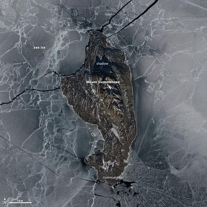 Uummannaq Island, Greenland