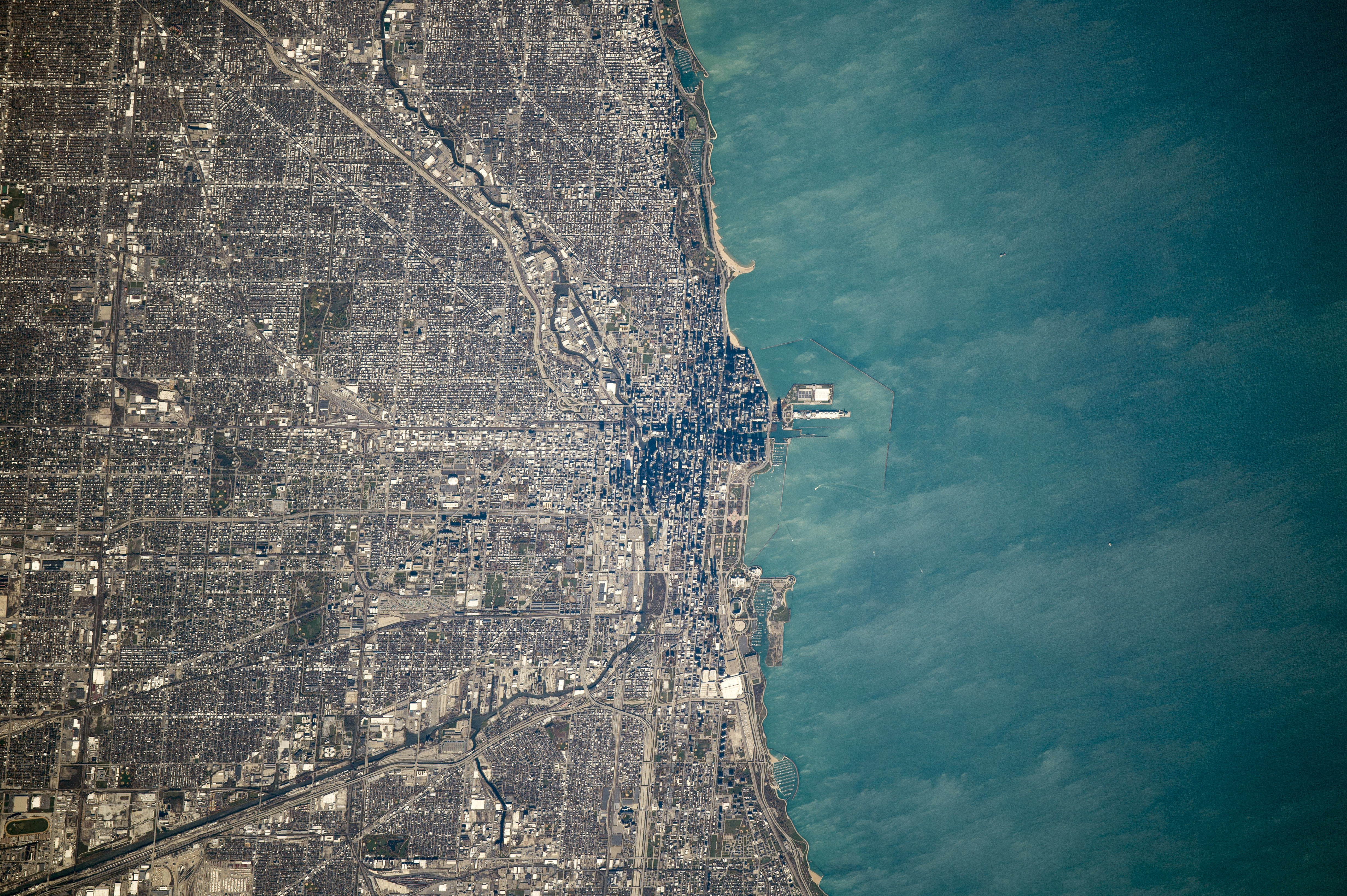 Chicago And Its Loop  Image Of The Day - Chicago map satellite