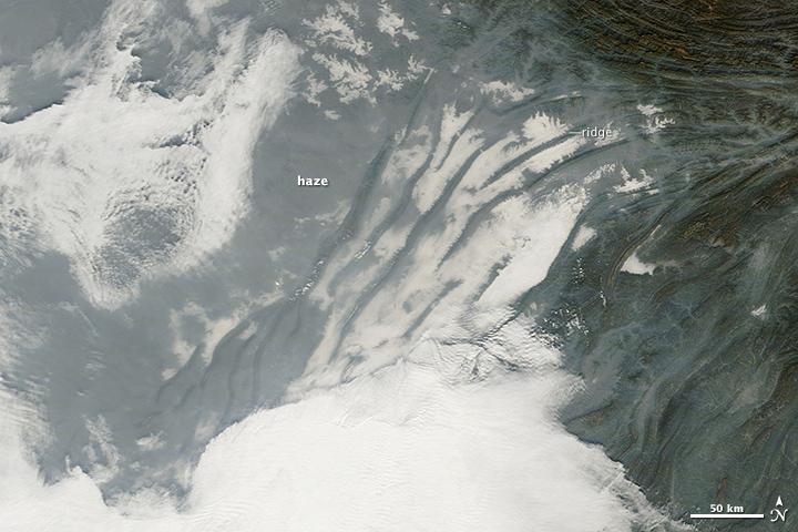 Haze in Southwest China