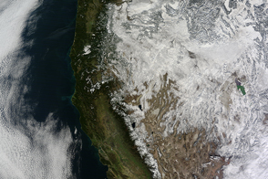 Snow in the U.S. West