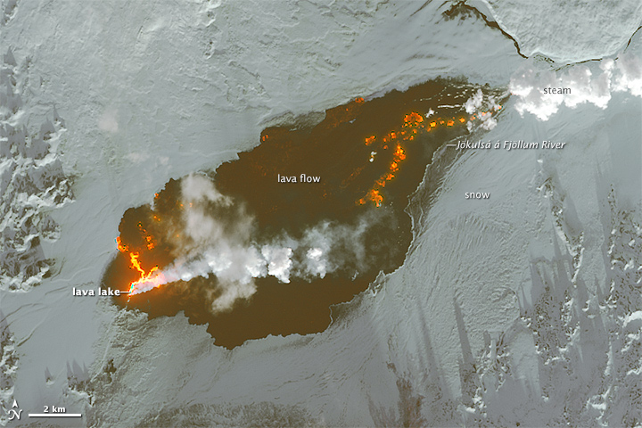 Growth of the Holuhraun Lava Field