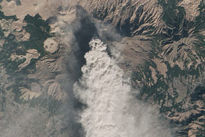 Eruption at Mount Aso - selected image