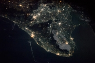 India by Night and Day