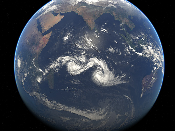 Twin Tropical Cyclones