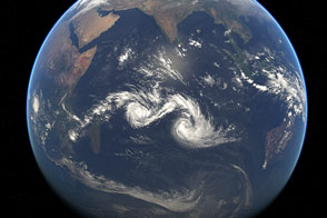 Twin Tropical Cyclones - selected child image