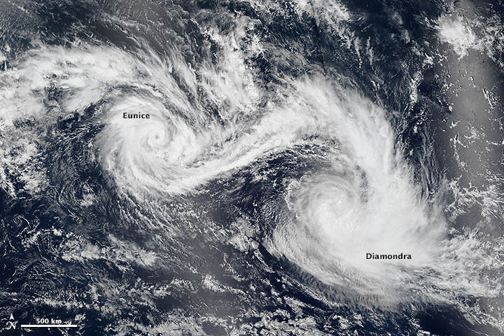 Twin Tropical Cyclones - related image preview