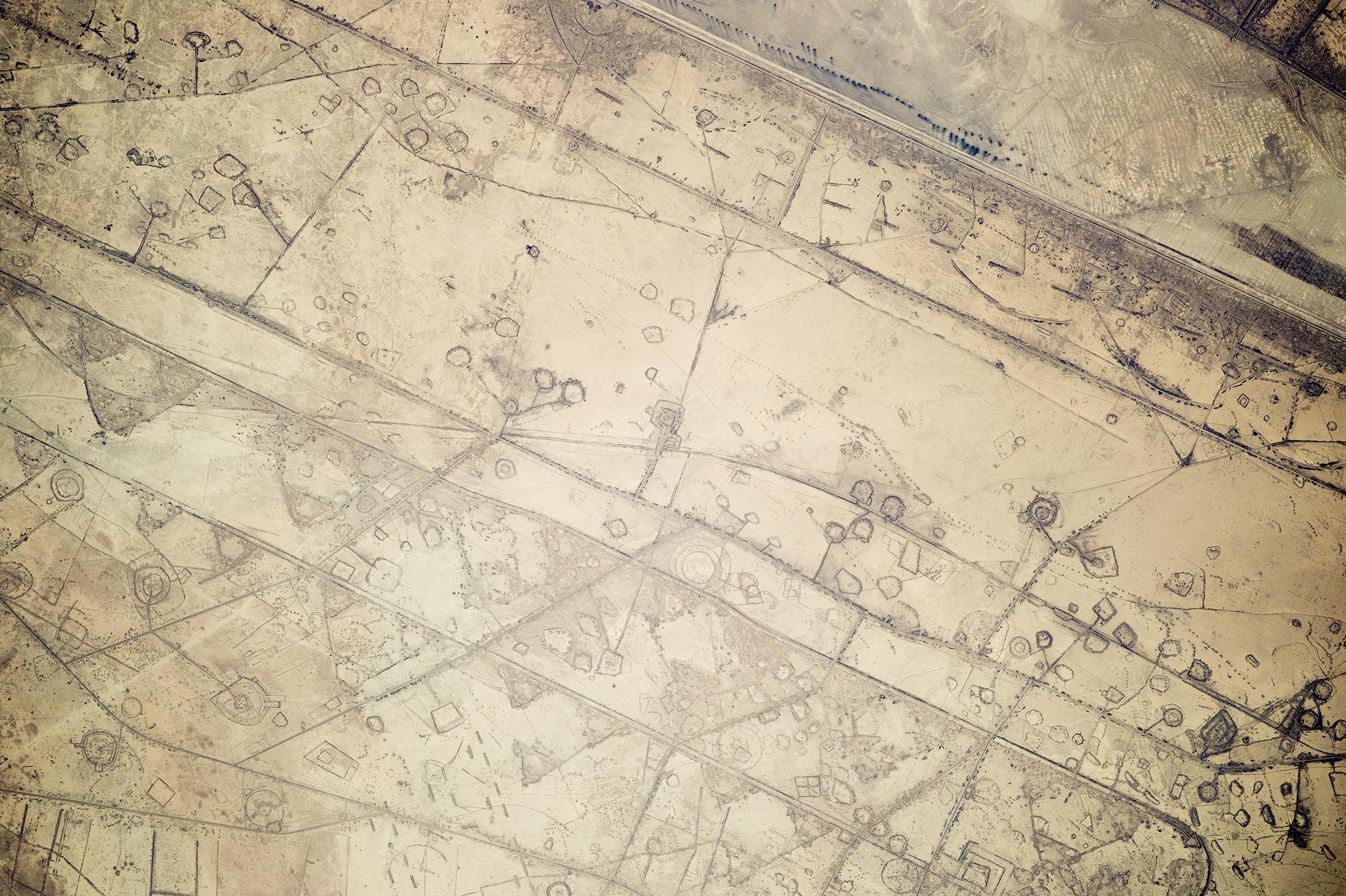 Fortification Patterns on the Iraq-Iran Border