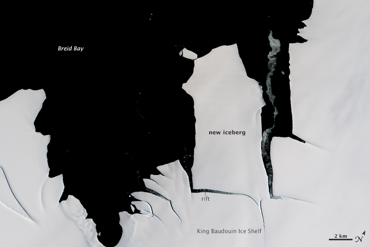 A Chip off the King Baudouin Ice Shelf