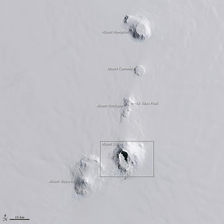 Antarctica's Tallest Volcano