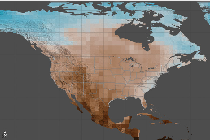 Carbon Emissions Could Dramatically Increase Risk of U.S. Megadroughts