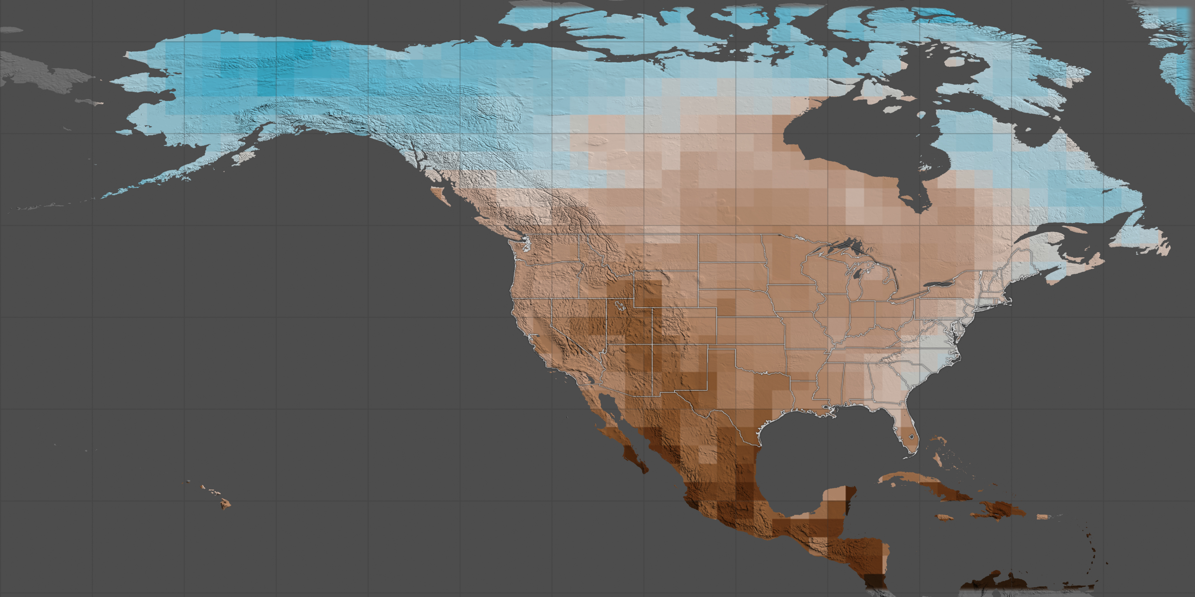 NASA Map Risk Of US Megadrought Increases Breitbart - Cook out us map