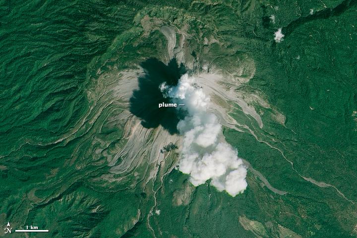 Colima Volcano Erupts