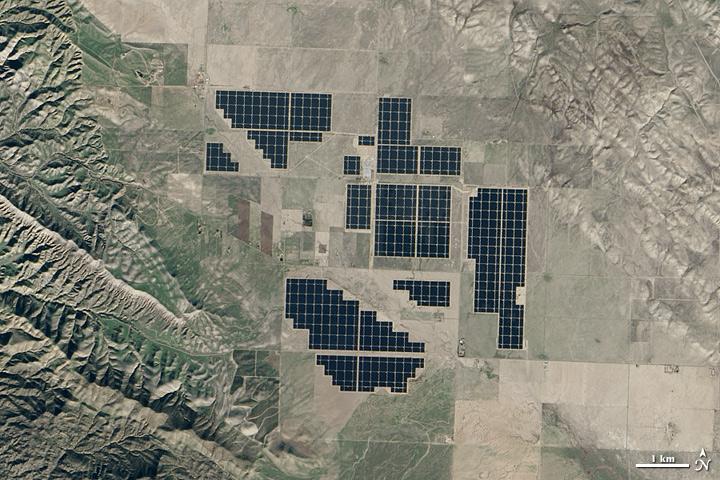 Topaz Solar Farm, California
