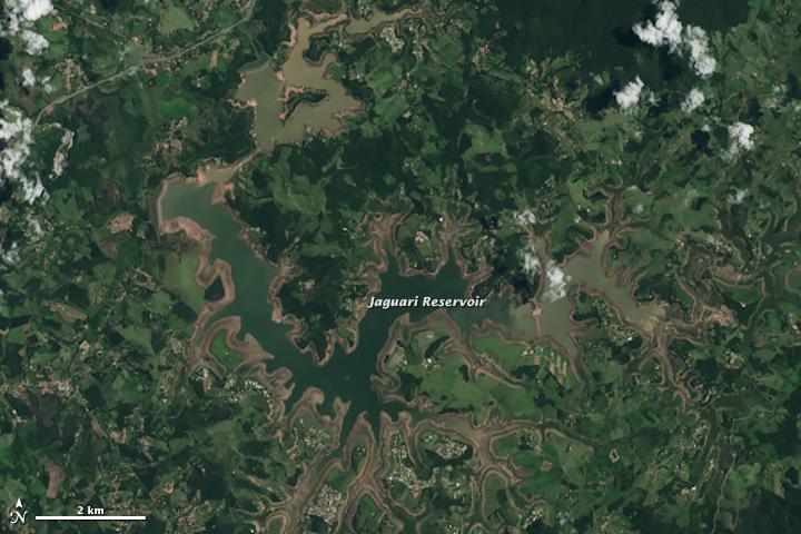 Water Levels Still Dropping Near São Paulo