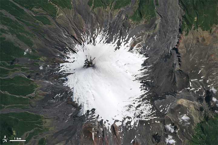 Eruption of Villarrica Volcano
