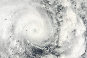 Three Cyclones Churn Off Australia