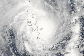 Cyclones Thrash Vanuatu and Western Australia