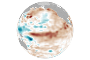 Weak El Niño, but Hints of Pacific Change