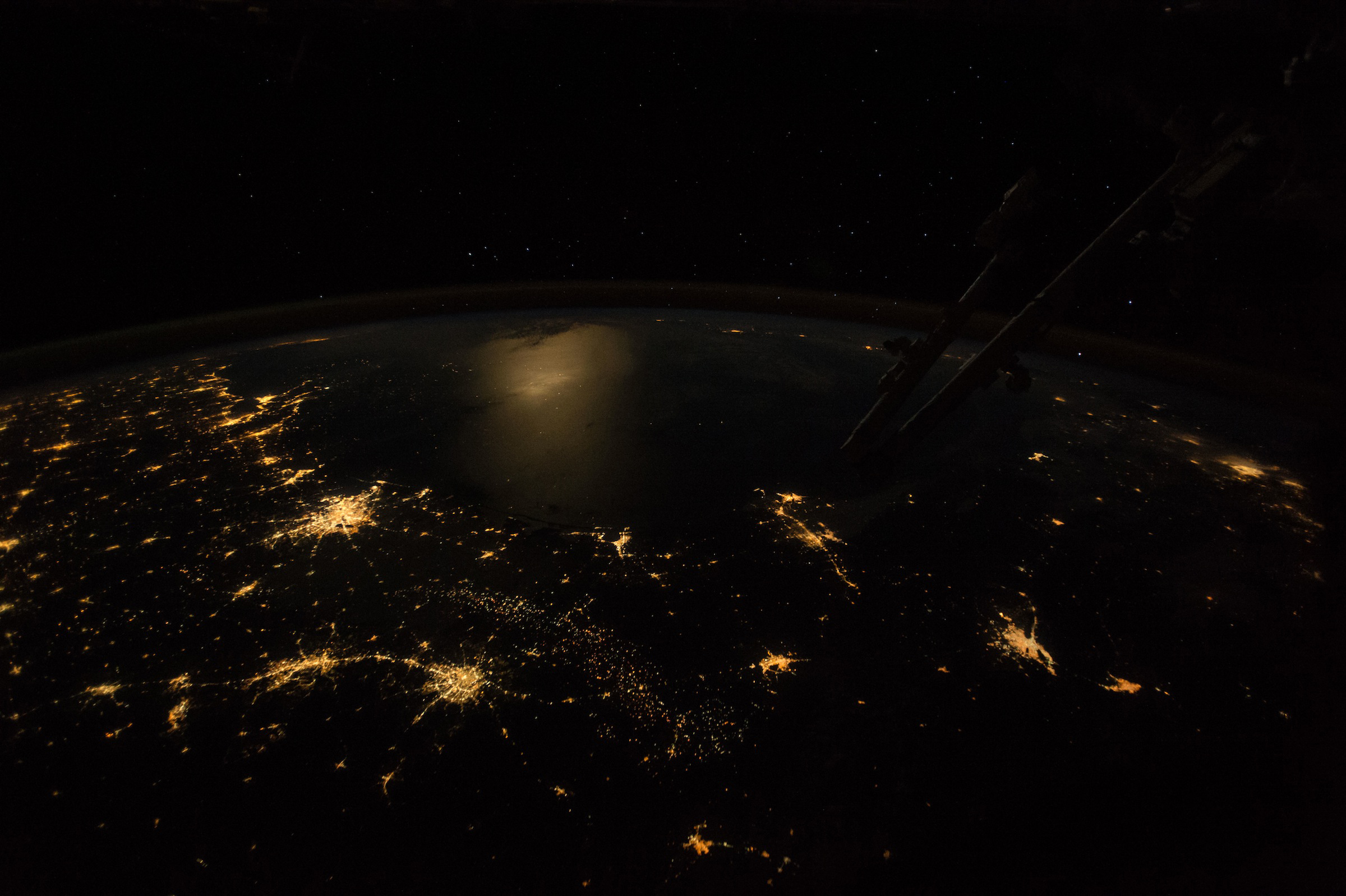 Texas and the Gulf at Night - related image preview