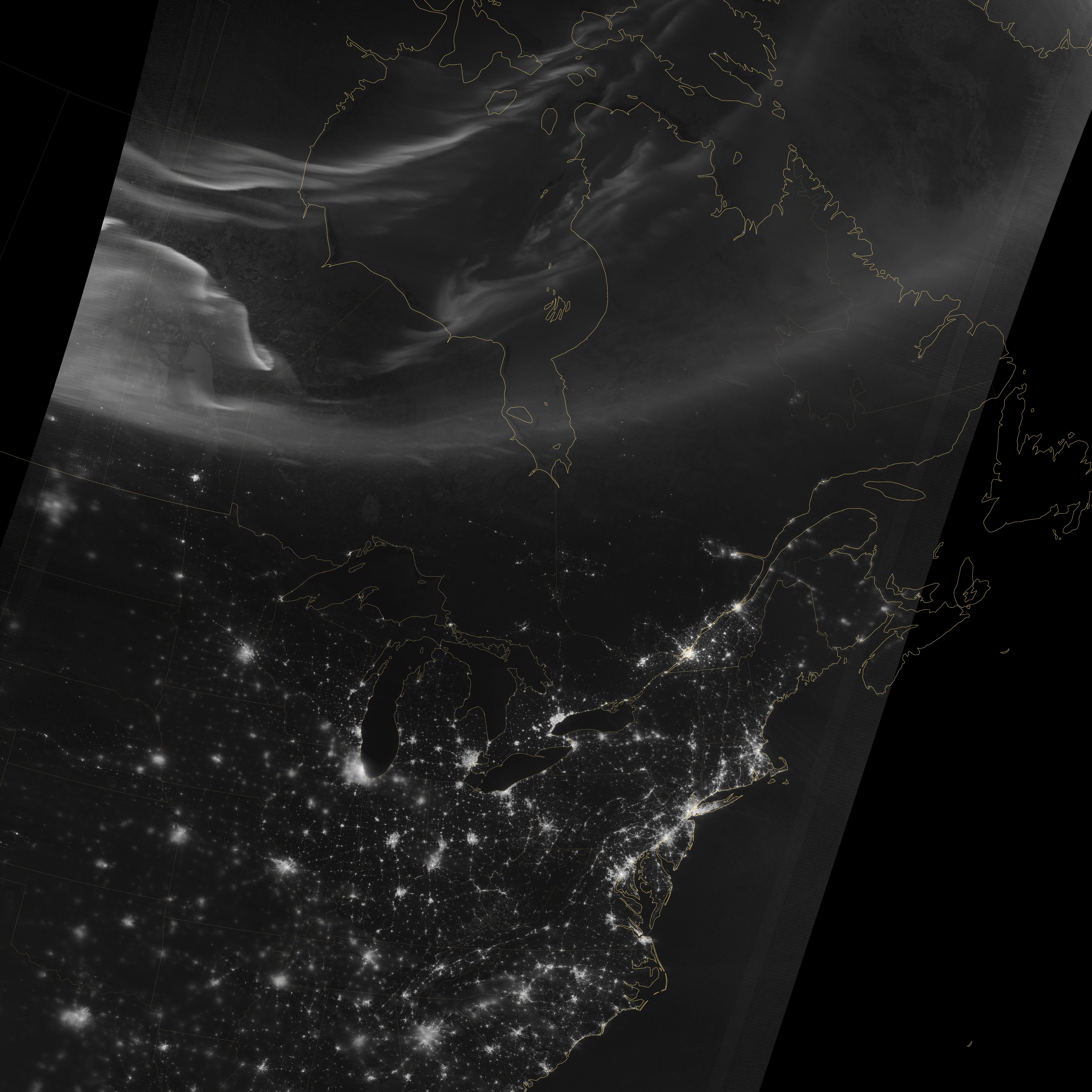 Looking Down and Up at the Aurora - related image preview