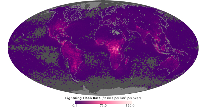 Global Lightning Activity