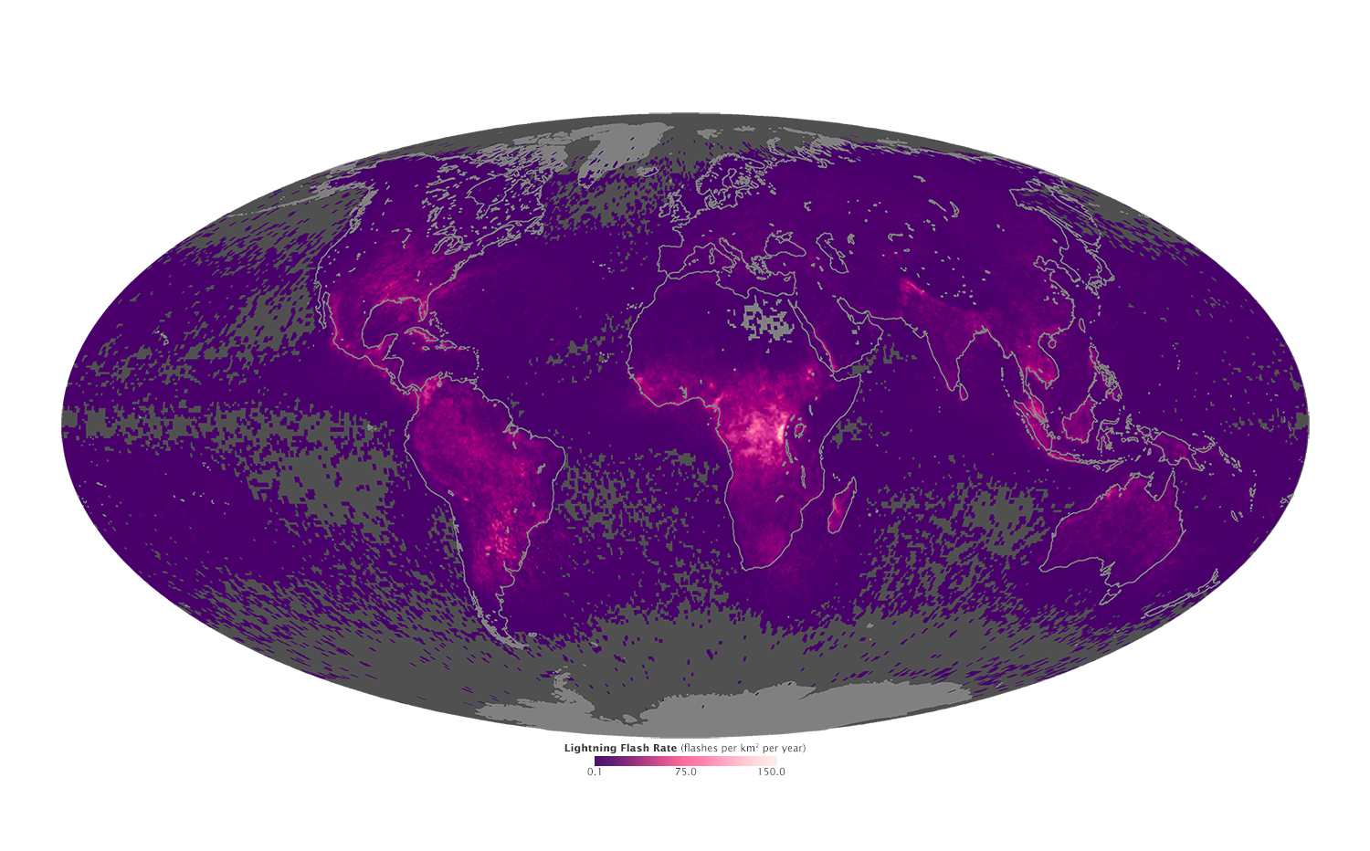 Global Lightning Activity - related image preview