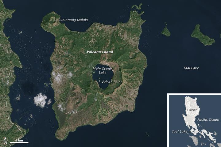 Volcano Island of Taal