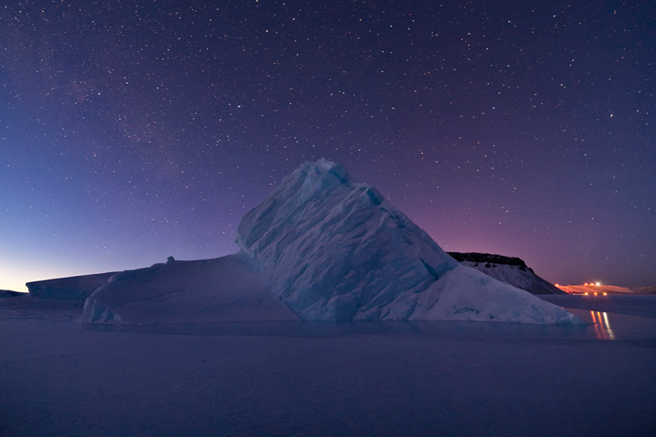 Iceberg in North Star Bay, Greenland