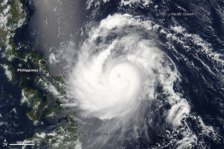 Cyclone Noul Approaches The Philippines