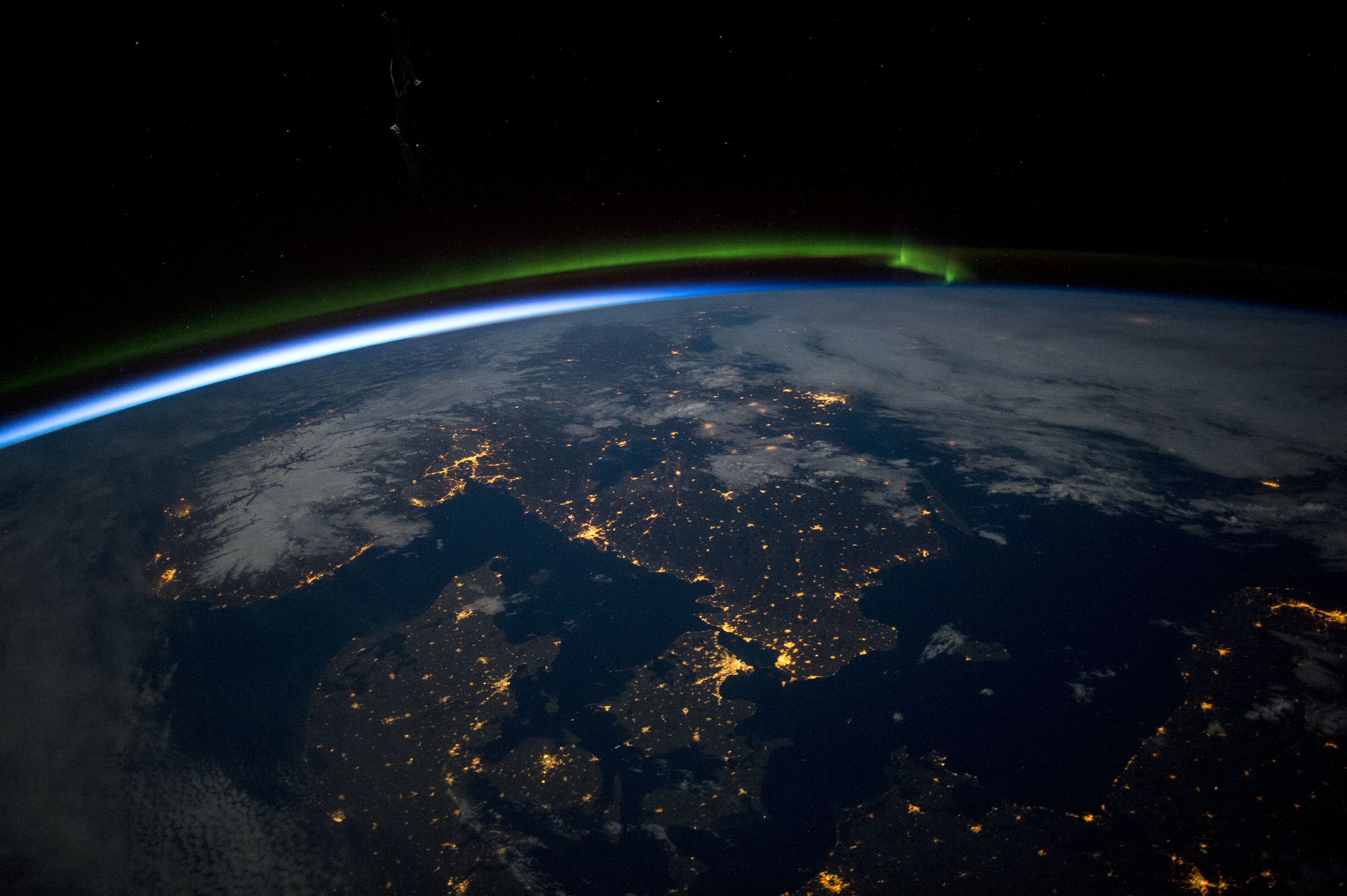 Scandinavia at Night : Image of the Day