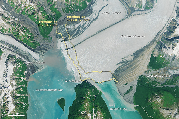 The Advance of Hubbard Glacier - related image preview