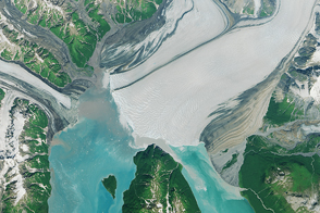 The Advance of Hubbard Glacier