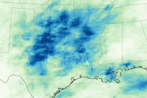 Drenching the South and Plains