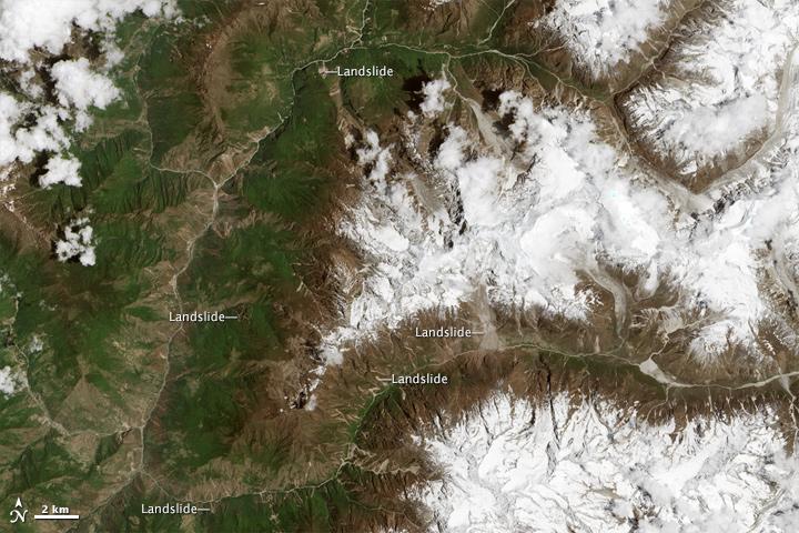 Scientist-Volunteers Map Landslides from Nepal Quakes