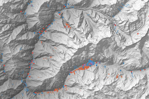 Scientist-Volunteers Map Landslides from Nepal Quakes - selected image