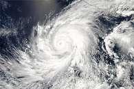 Hurricane Blanca Off Mexico