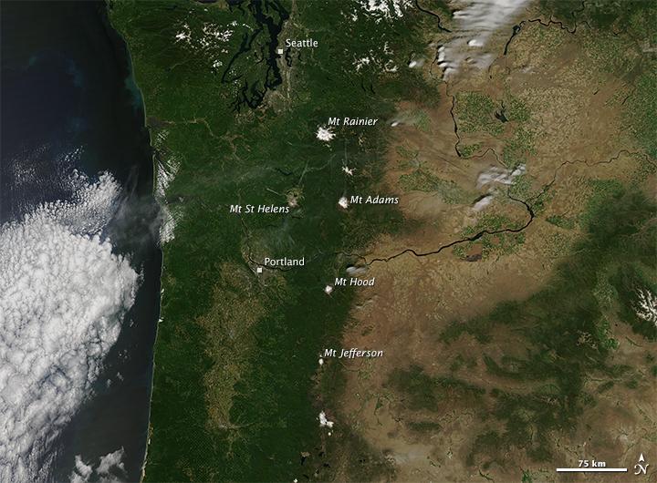Pacific Northwest Seasonal Snowpack