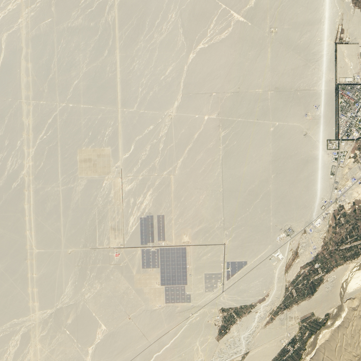 Growth of Solar in the Gobi Desert - related image preview