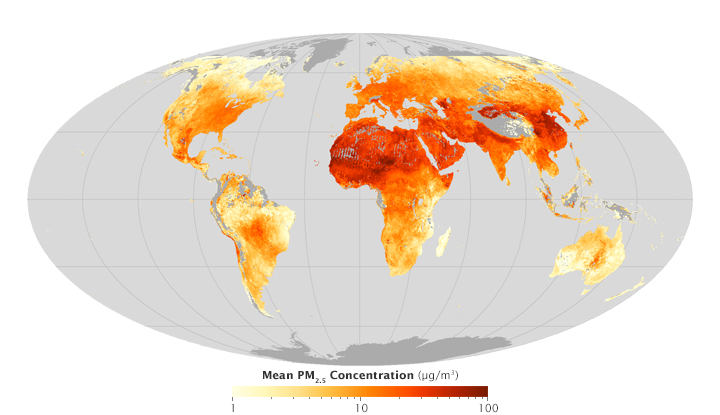 Changing Views of Fine Particulate Pollution - related image preview