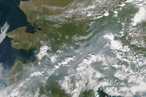Smoke in Fairbanks and Interior Alaska