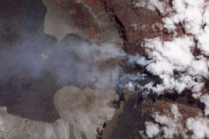 Eruption of Wolf Volcano Continues - selected image